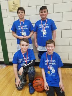 8-10 boy winners