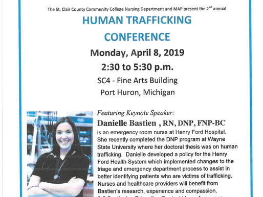 Human Trafficking Conference is Coming to Port Huron
