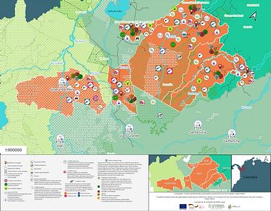 Condiciones territoriales y participación política en el sur de Córdoba y Urabá - Darién