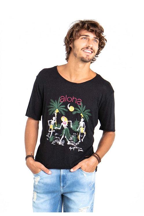 Camiseta Docthos Viscolinho - PRETA