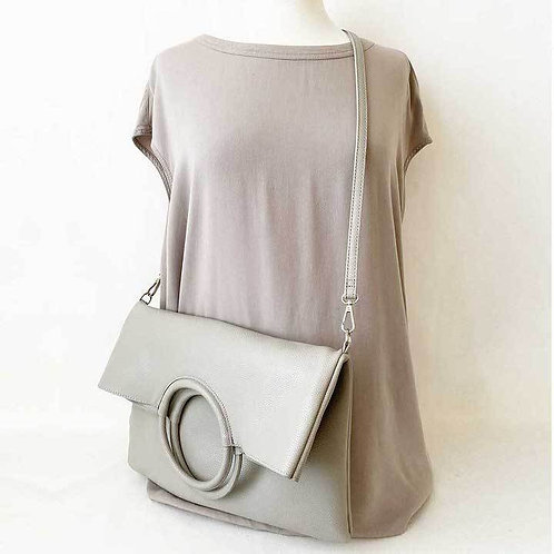 CARACOL MULTI STYLE PURSE LIGHT GREY