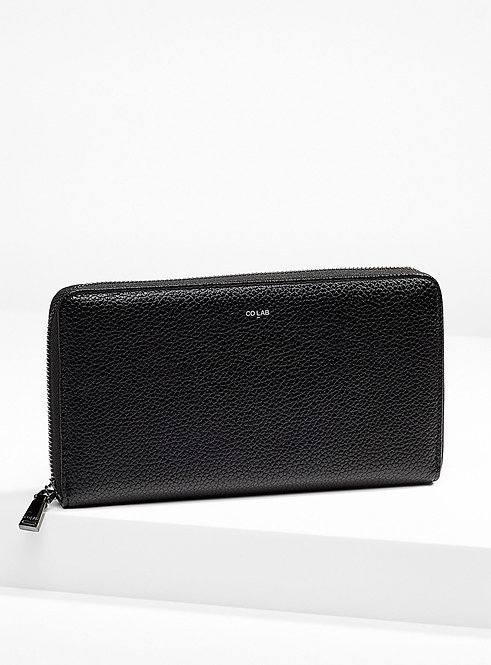 CO LAB TRISH - LARGE WALLET BLACK