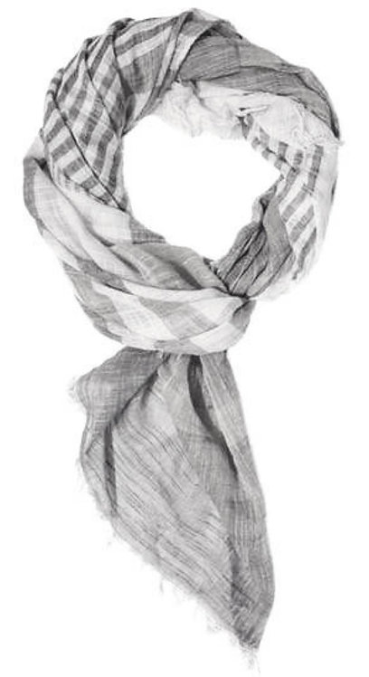 BY CHANCE CANDACE LIGHT WEIGHT SCARF BLACK