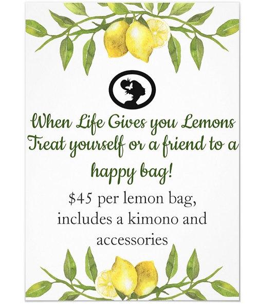 LEMON HAPPY BAG