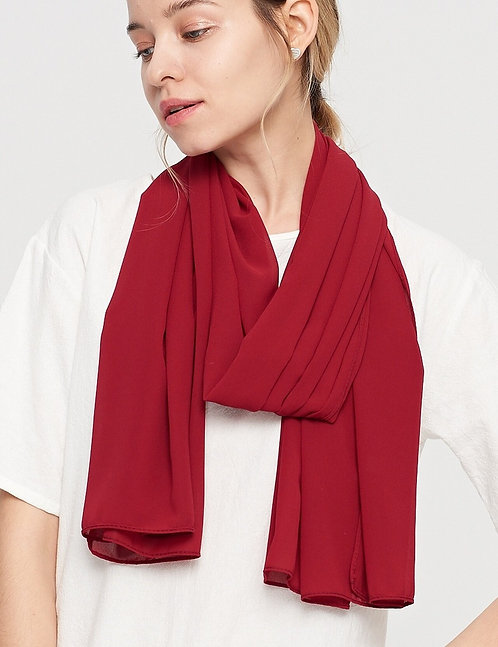WELLCO RED SCARF