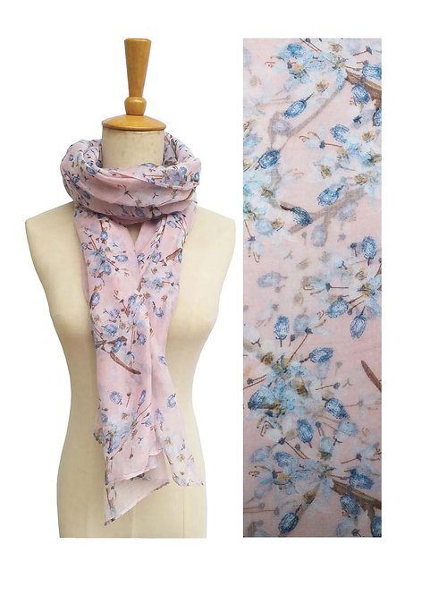 PASSIONS LIGHT WEIGHT SCARF PINK