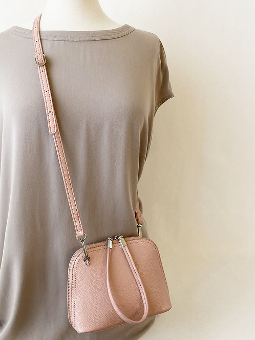 CARACOL PINK SMALL CROSSBODY BAG
