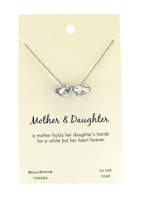 SHAGWEAR MOTHER & DAUGHTER NECKLACE