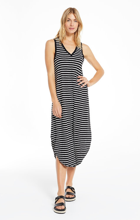 Z SUPPLY REVERIE INVERTED STRIPE DRESS