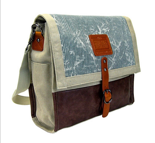 LICENCE LAPTOP BAG BEIGE