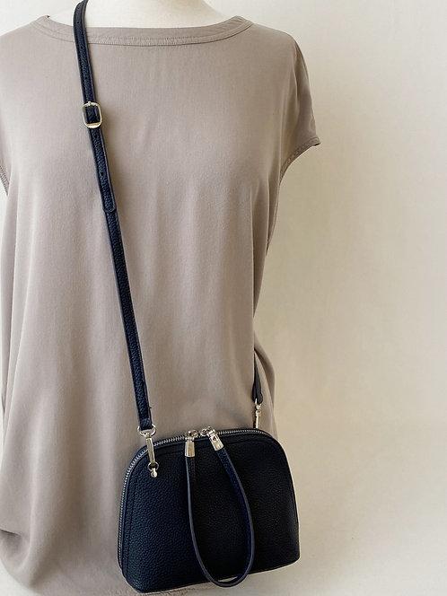 CARACOL BLUE SMALL CROSSBODY BAG