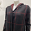 Thumbnail: BLACK AND RED LONG SWEATER BUTTON UP
