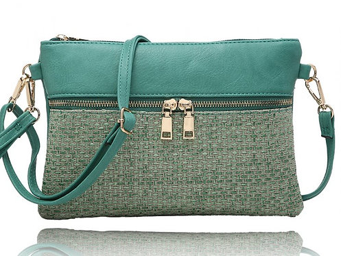 LA VOLTA CLAIRE MINT PURSE