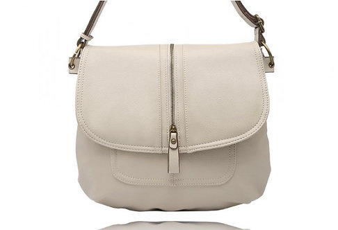 LA VOLTA RITA BONE CROSSBODY PURSE