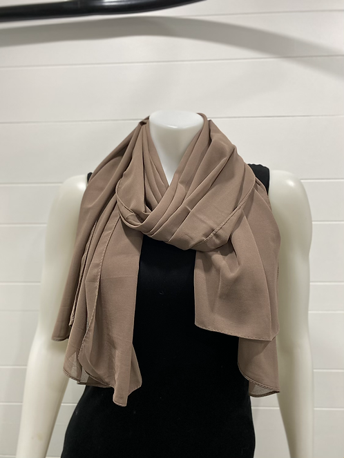 WELLCO TAUPE SCARF