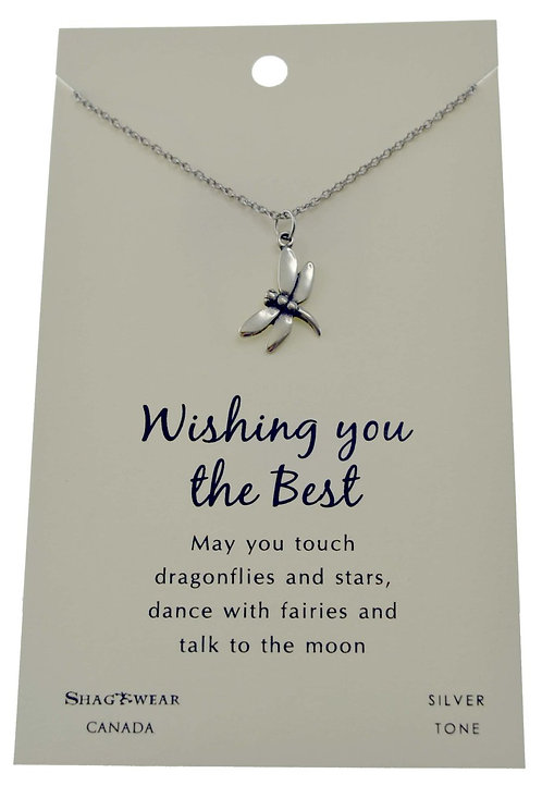 SHAGWEAR WISHING YOU THE BEST NECKLACE