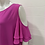Thumbnail: SHE AND SKY FUCHSIA PINK OPEN SHOULDER TOP