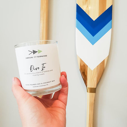 ARROW IT FORWARD DIVE IN 8oz CANDLE