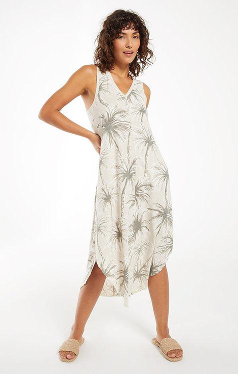 Z SUPPLY REVERIE COCONUT PALM DRESS