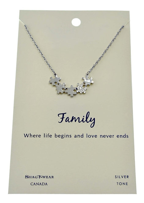 SHAGWEAR FAMILY NECKLACE