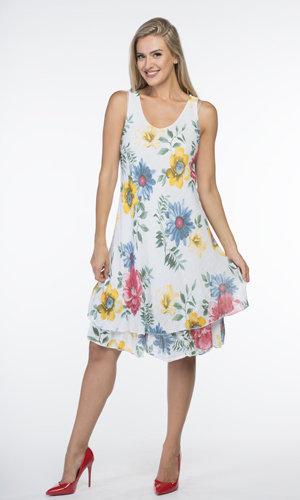CHERISHH FLOWER PRINT DRESS