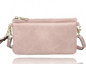 LA VOLTA BOBBI BLUSH WALLET