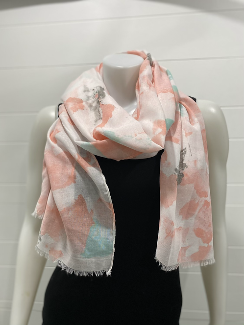 PICABO PINK/TEAL SCARF