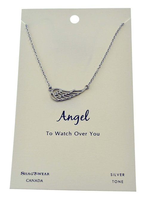 SHAGWEAR ANGEL NECKLACE