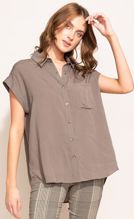 PINK MARTINI AMBER TOP OLIVE