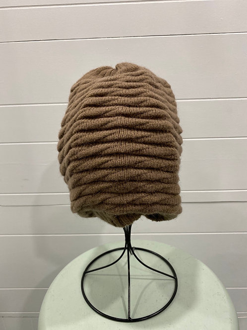 TAUPE SLOUCHY TOQUE