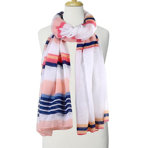 CARACOL PINK LIGHT WEIGHT SCARF
