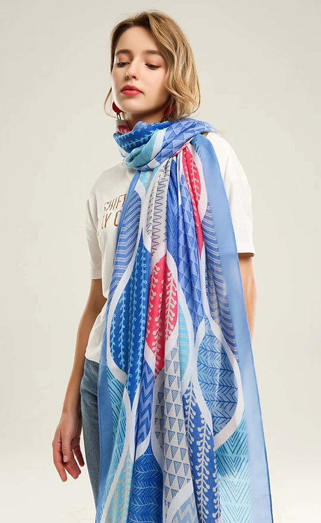 CORALALA LIGHT WEIGHT SCARF 04
