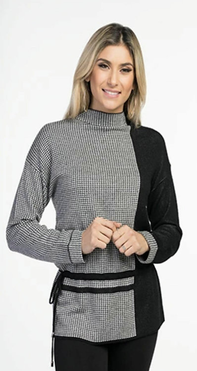 VARATIONS SWEATER WITH STRINGS