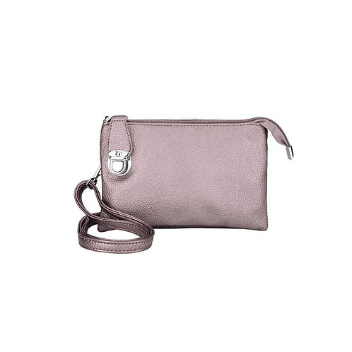 CARACOL CLUTCH ROSE GOLD
