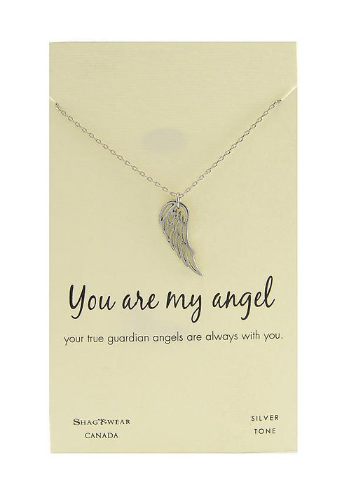 SHAGWEAR YOU ARE MY ANGEL NECKLACE