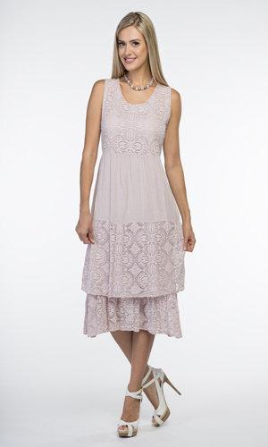CHERISHH PINK COTTON DRESS