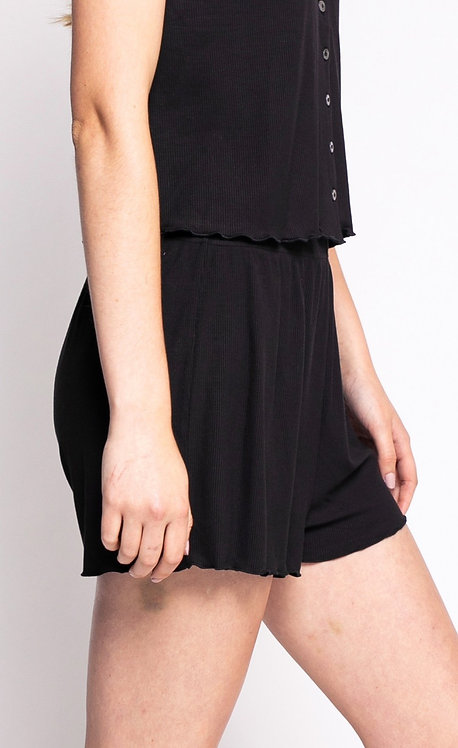PINK MARTINI THE FLAVIE SHORTS BLACK