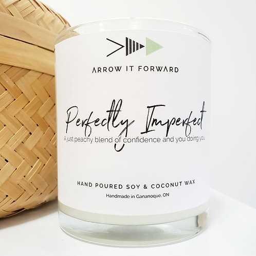 ARROW IT FORWARD PERFECTLY IMPERFECT 8oz CANDLE
