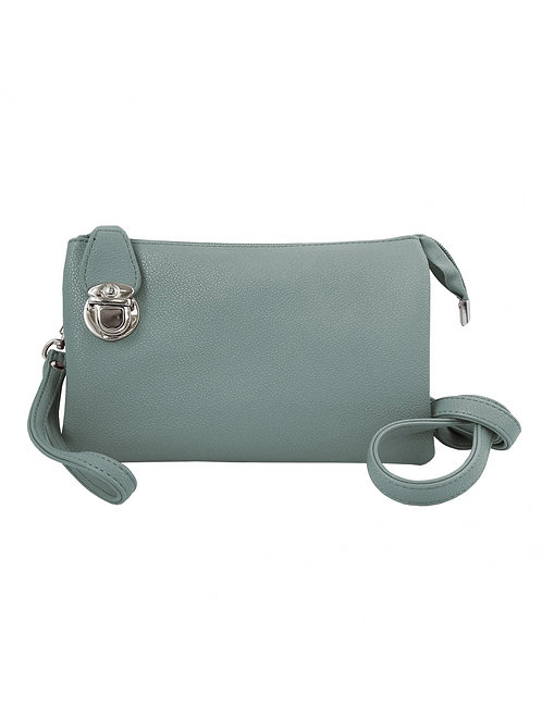 CARACOL MINT CLUTCH