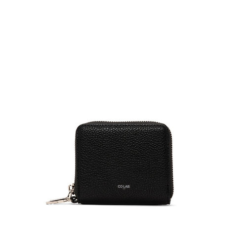 CO LAB KELLY - WALLET WITH KEYRING BLACK