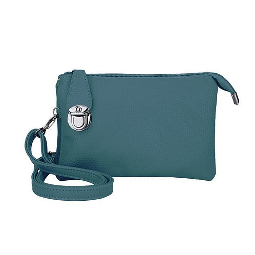 CARACOL CLUTCH TEAL