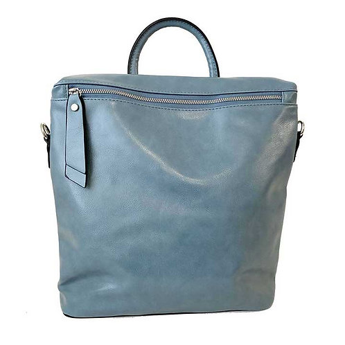 CARACOL BACKPACK PURSE BLUE
