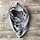Thumbnail: BLONDIE APPAREL PONCHO SCARF CLASSIC GREY FLECK