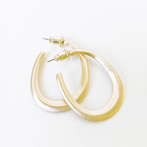CARACOL GOLD EARRING 2438