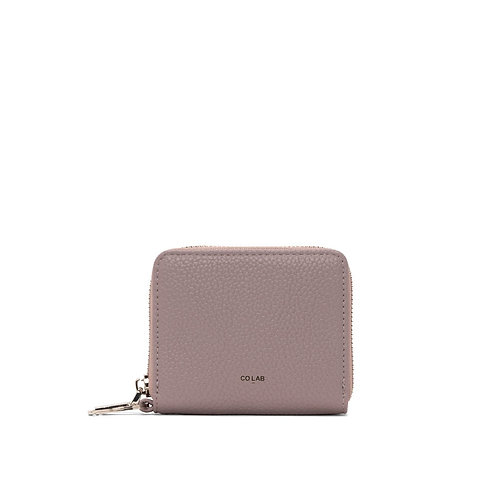 CO LAB KELLY - WALLET WITH KEYRING DUSTY MAUVE