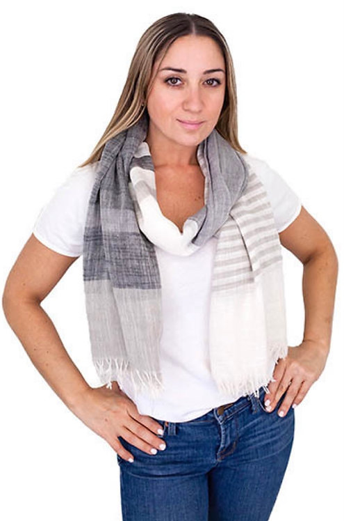 BY CHANCE LIGHTWEIGHT SCARF CANDACE DENIM
