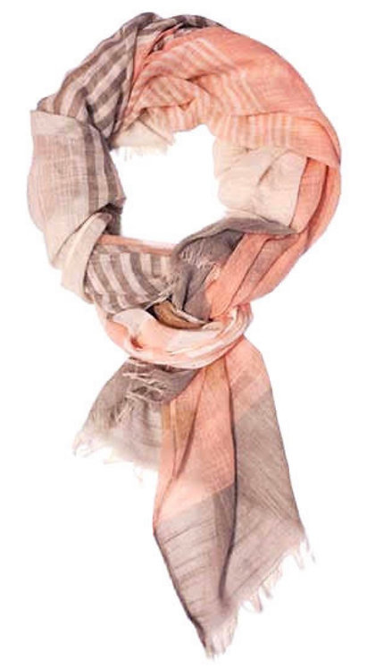 BY CHANCE CANDACE LIGHT WEIGHT SCARF PINK