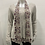 Thumbnail: CHERISHH GREY LONG SLEEVE WITH FLOWER UNDERNEATH AND SCARF