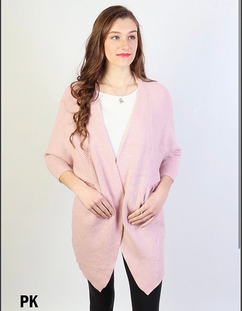 CHEIREE  BLISS PINK CARDIGAN