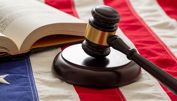 law-gavel-and-book-on-united-states-of-a